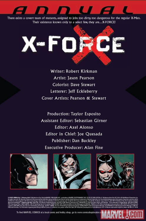 X-Force Annual (2009) #1