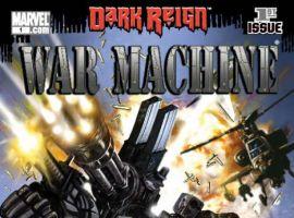 WAR MACHINE #1 cover by Leonardo Manco