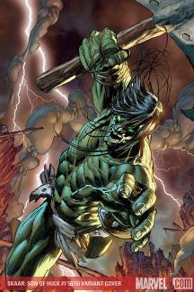 Son of Hulk (2008) #1 (PAGULAYAN (50/50 COVER))