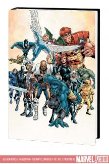 All-New Official Handbook of the Marvel Universe a to Z Vol. 1 Premiere (Hardcover)