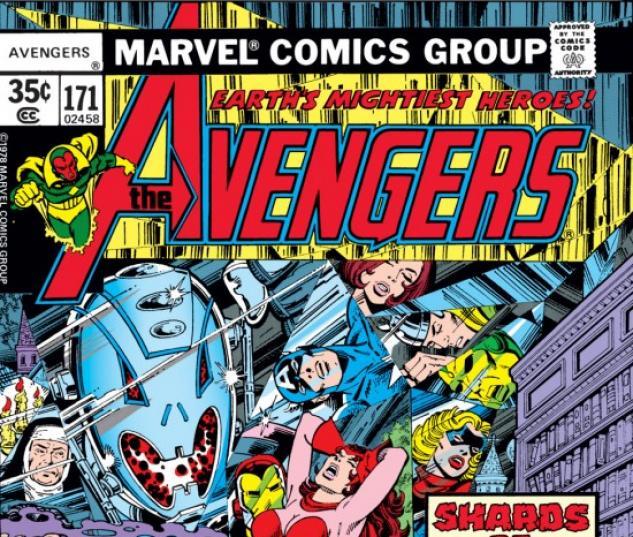 AVENGERS #171 COVER
