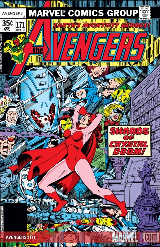 AVENGERS #171 COVER