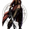Dante character art from Marvel vs. Capcom 3