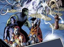 Avengers: The Children's Crusade - Young Avengers #1 preview art by Alan Davis