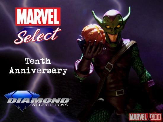 Marvel Select 10th Anniversary Goblin Contest Image