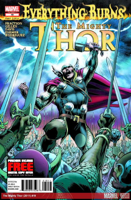 THE MIGHTY THOR 19 (WITH DIGITAL CODE)