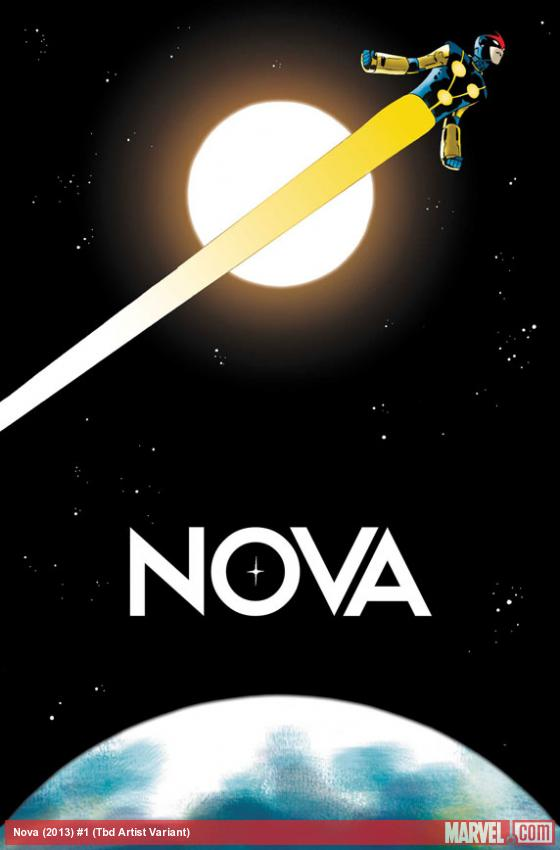 Nova (2013) #1 variant cover by Marcos Martin