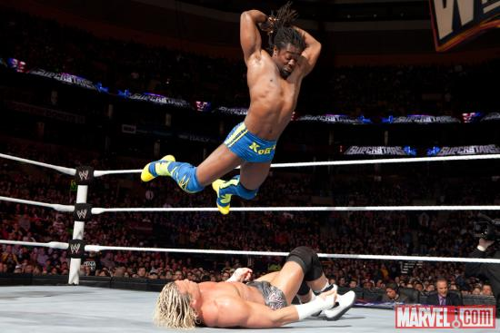 Kofi Kingston (photos courtesy of WWE)