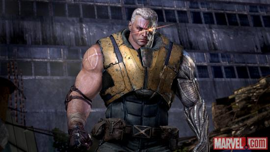 A look at Cable in the Deadpool video game