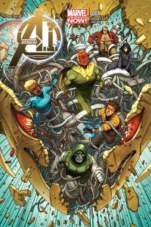 Avengers A.I. #1  (Araujo Variant)