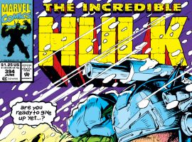 Incredible Hulk (1962) #394 Cover