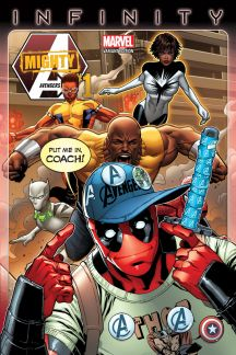 Mighty Avengers #1  (Barberi Party Variant)