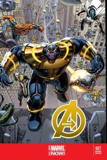 Avengers #27  (Weaver Variant)