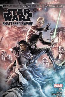 JOURNEY TO STAR WARS: THE FORCE AWAKENS - SHATTERED EMPIRE #4