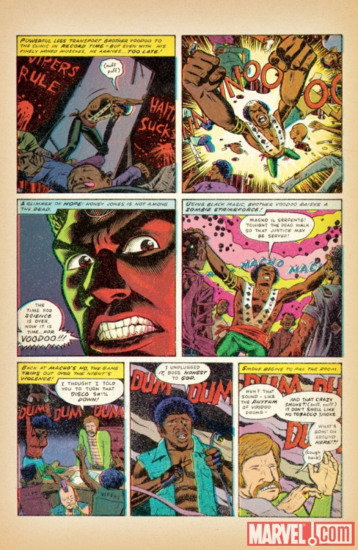 A page from Brian Maruca and Jim Rugg's Brother Voodoo story