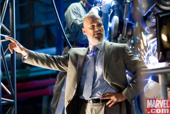 Obadiah Stane, man of action