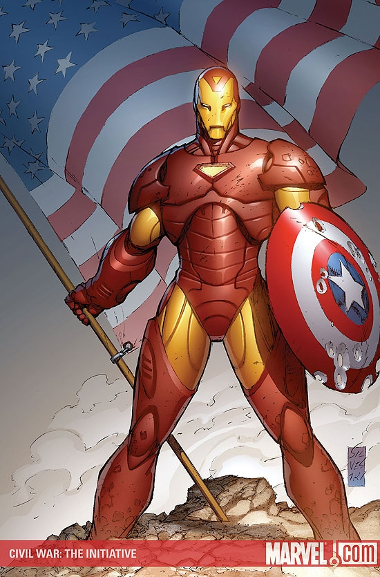 CIVIL WAR: THE INITIATIVE (2008) #1 COVER
