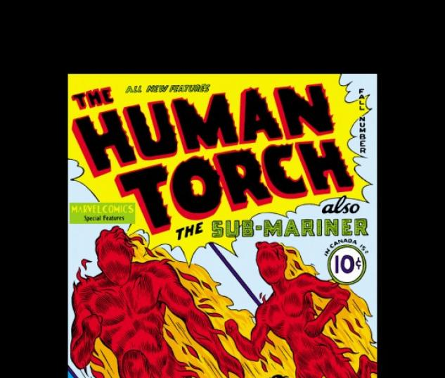 HUMAN TORCH #2 COVER