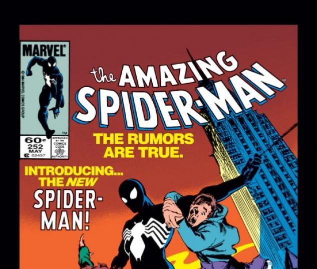 AMAZING SPIDER-MAN #252 COVER