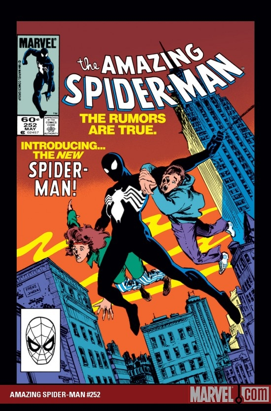 AMAZING SPIDER-MAN #252 COVER
