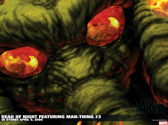 Dead of Night Featuring Man-Thing (2008) #3 Wallpaper