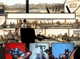 Image Featuring Iron Man, Thor, Captain America