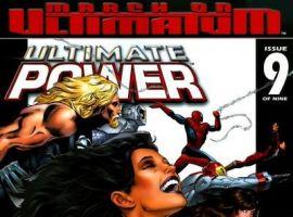 Image Featuring Zarda, Iron Man (Ultimate), Scarlet Witch (Ultimate), Wasp (Ultimate), Spider-Man (Ultimate), Thor (Ultimate), Human Torch (Ultimate), Hyperion (Earth-712)