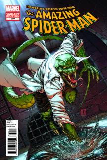 Amazing Spider-Man #690  (Lizard Variant)