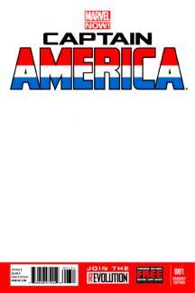 Captain America #1  (Blank Cover Variant)