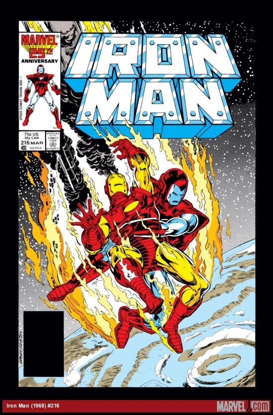 Iron Man (1968) #216 Cover