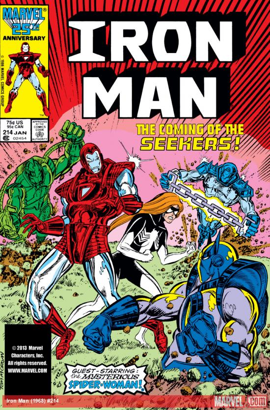 Iron Man (1968) #214 Cover