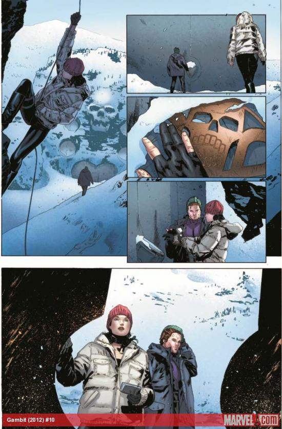 Gambit (2012) #10 preview art by Clay Mann