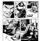 Daredevil: End of Days #7 preview inks by Klaus Janson & Bill Sienkiewicz