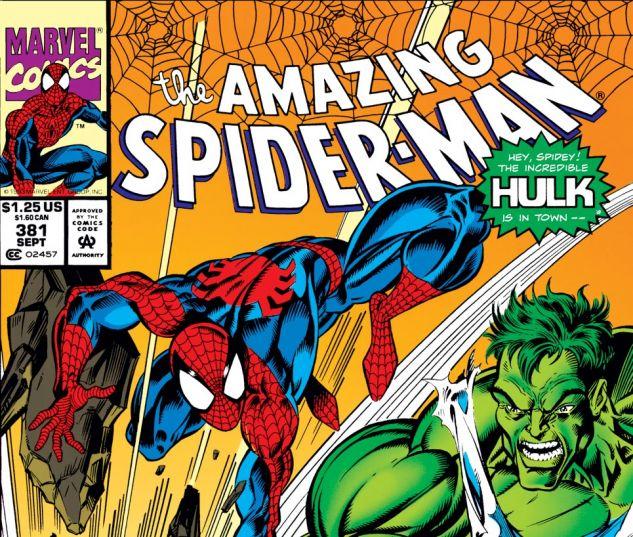Amazing Spider-Man (1963) #381 Cover