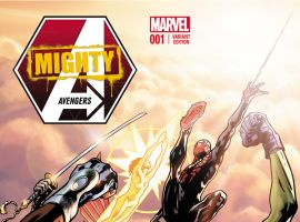 MIGHTY AVENGERS 1 HITCH VARIANT (INF, WITH DIGITAL CODE)