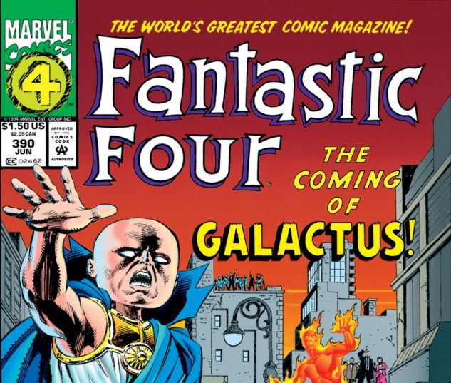 Fantastic Four (1961) #390 Cover