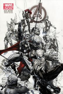 Avengers #24  (Bianchi Sketch Variant)