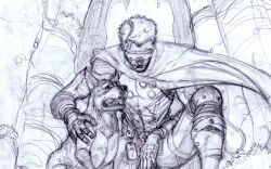 Inhuman sketch by Ryan Stegman