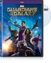 Guardians of the Galaxy on DVD