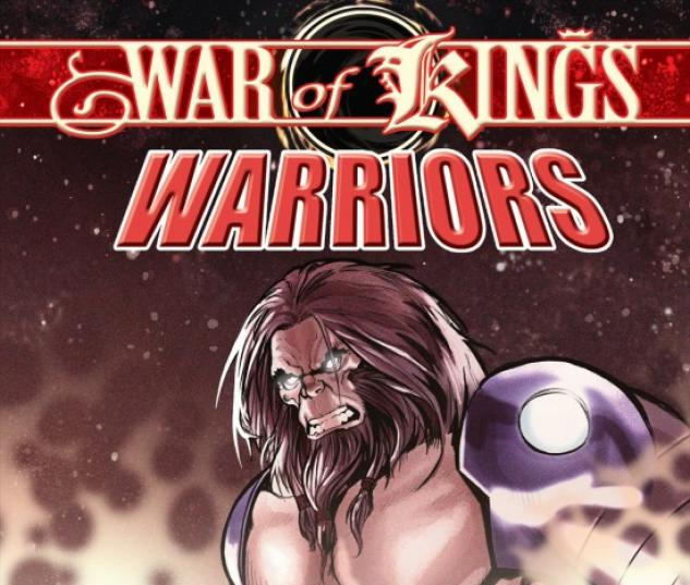 WAR OF KINGS: WARRIORS - BLASTAAR #1