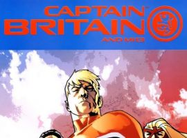 Image Featuring Captain Britain, Pete Wisdom, Spitfire, MI: 13, Black Knight (Sir Percy of Scandia)