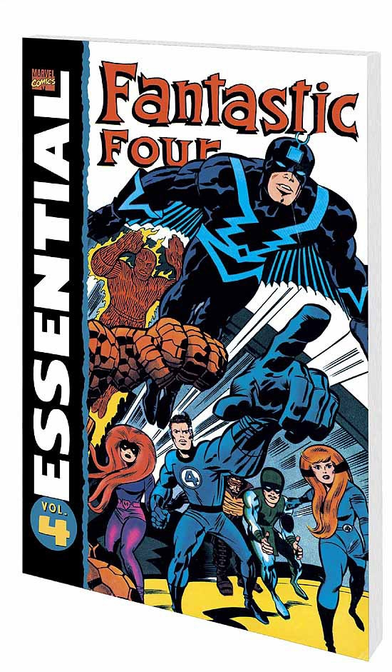 ESSENTIAL FANTASTIC FOUR VOL. 4 COVER