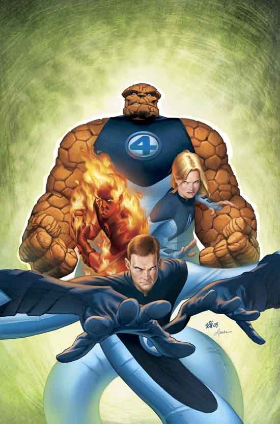 ULTIMATE FANTASTIC FOUR (2004) #7 COVER