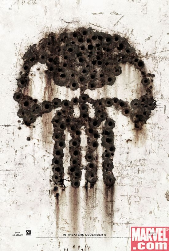 PUNISHER: WAR ZONE teaser poster
