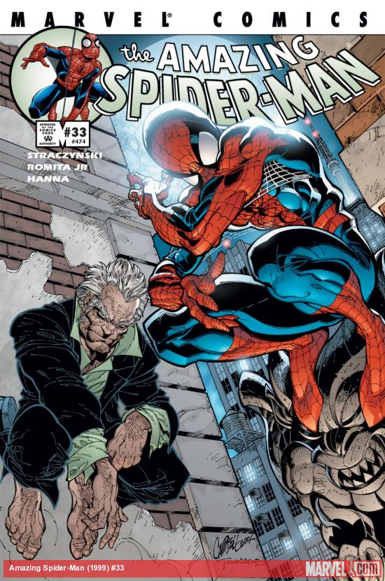 Amazing Spider-Man (1999) #33 Cover
