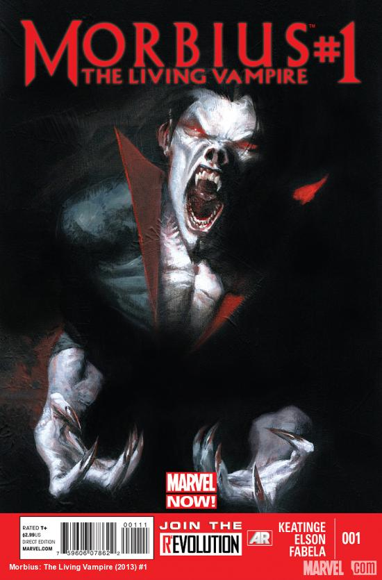 cover from Morbius: The Living Vampire (2013) #1