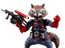 Rocket Raccoon figure by Hasbro