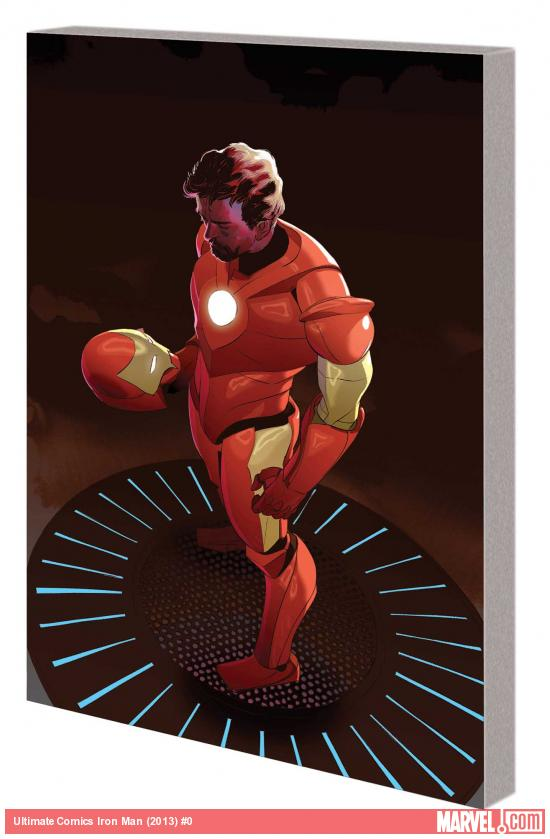 ULTIMATE COMICS IRON MAN TPB