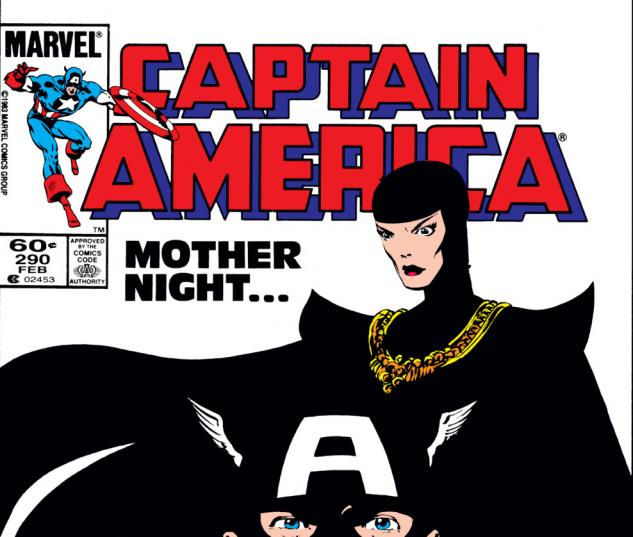 Captain America (1968) #290 Cover