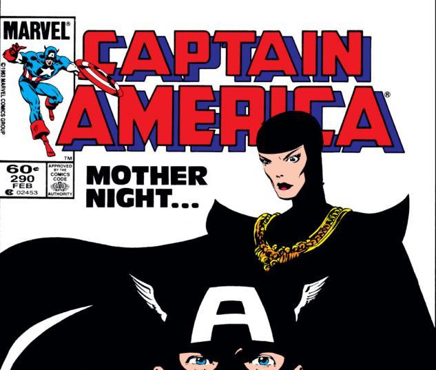 Captain America (1968) #290 Cover